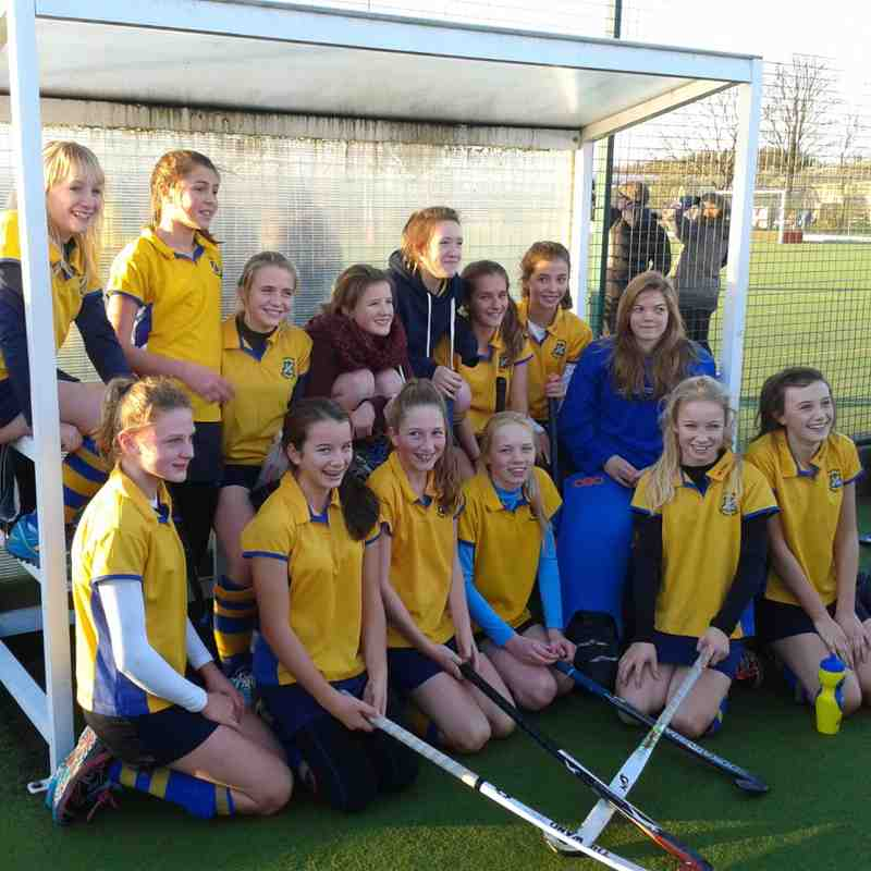 U14 Girls team in EHB cup.