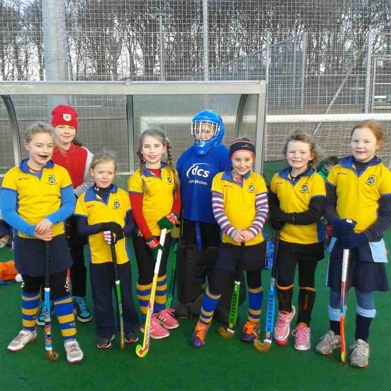 U10 girls C team. Dec 2014. Emma Dunkley,  Bethany Hawken-Reed, Georgina Councell, Becky Poppit, Katie Acheson, Molly Ord, Melissa Woods, Daisy Weston.