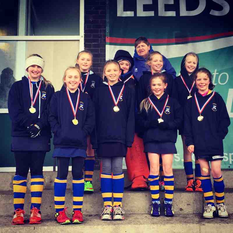 U10 Girls A team, North Champions 2014/15