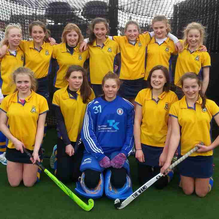 Under 16 girls have no defeats on last outing for the season.