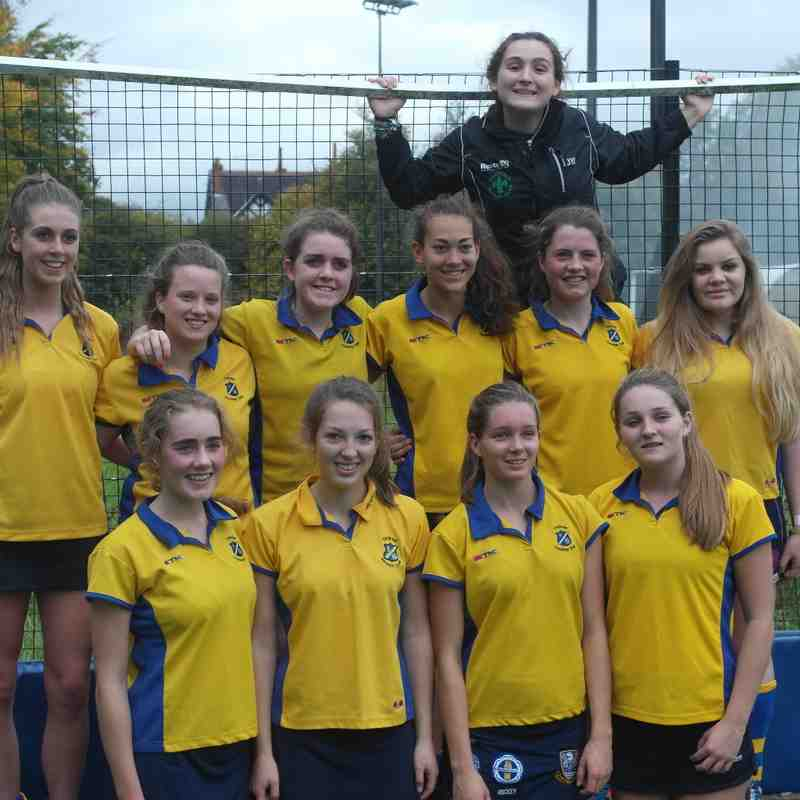 U16 girls EHB cup team.
