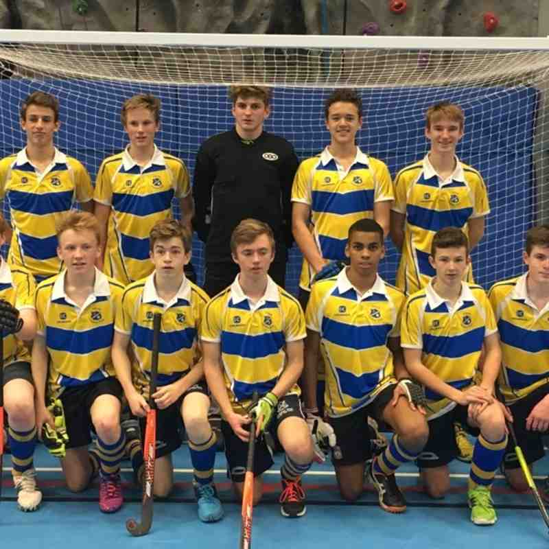 U16 Boys Indoor team.