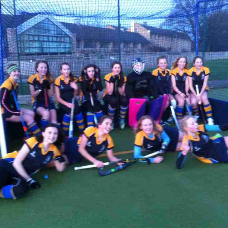 THIRSK U16 Girls EHB Sunday 10th January.