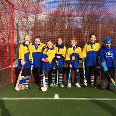 U10 Girls Dolphin team, first competition.