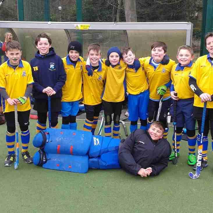 U12 Boys Hockey at Weetwood Sunday 18th Dec.