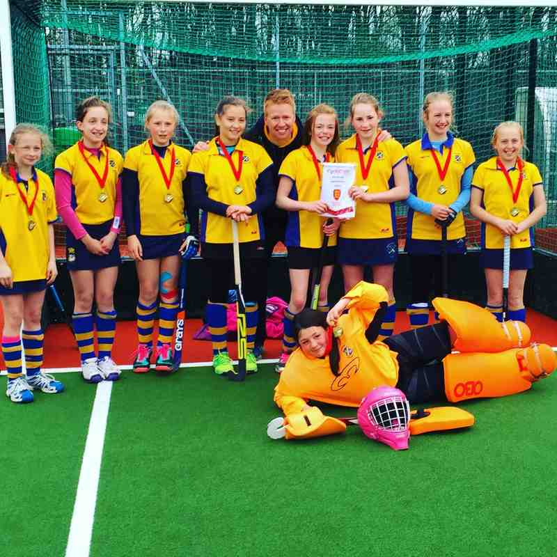 U12 Girls, North of England Champions 2015/16.