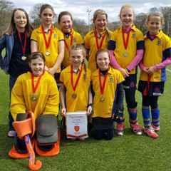 U10 girls bring home the gold.