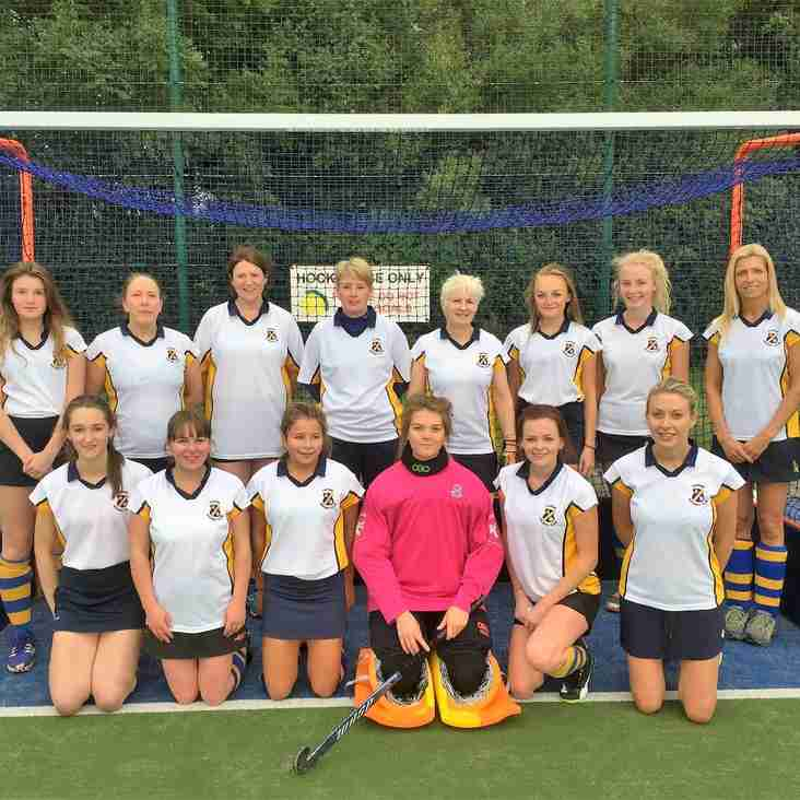 Thirsk Ladies 2nds v Otliensians away at  Horsforth High School