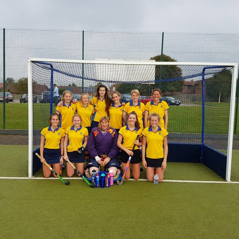 Ladies 1sts upset table toppers.