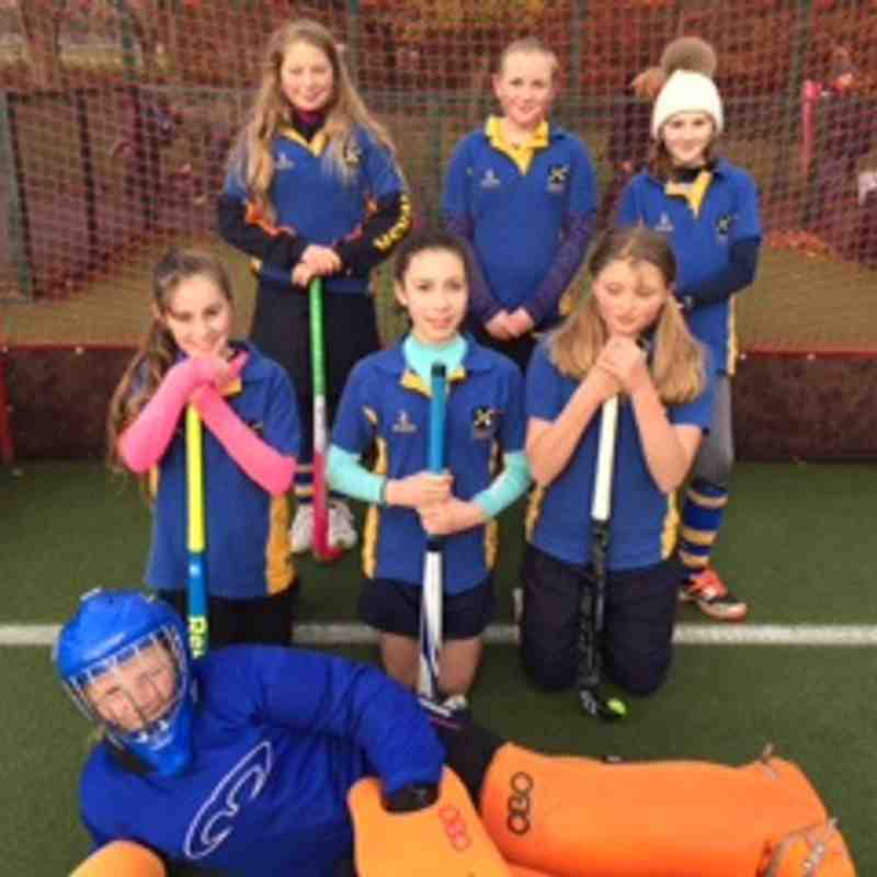 U12 Girls D team
