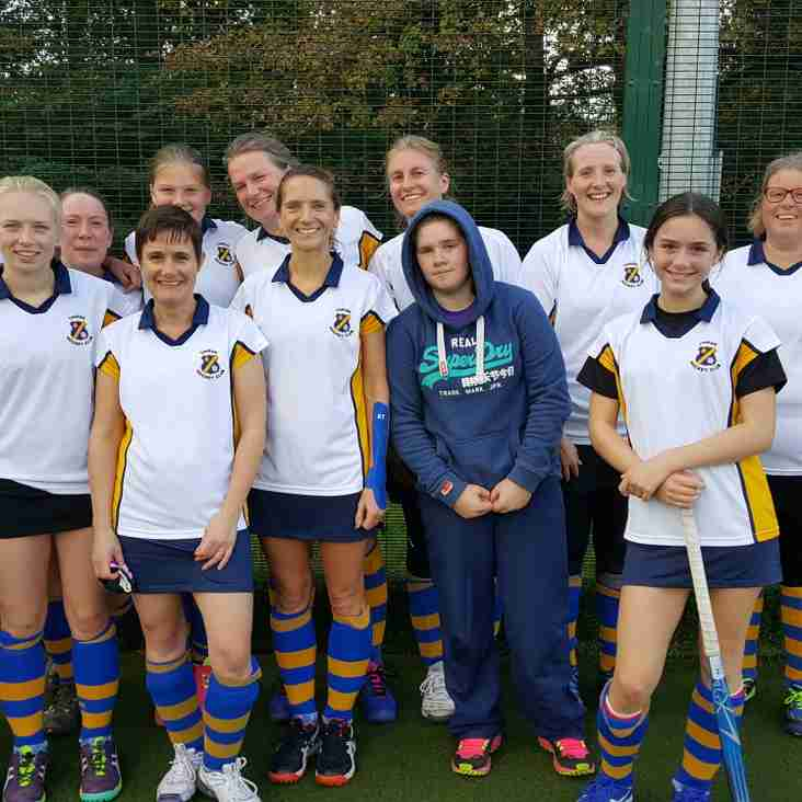 Ladies thirds produce a good away win.