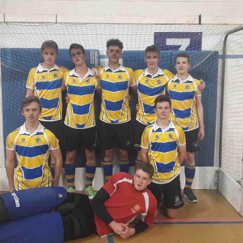 U18 Boys Indoor Team.