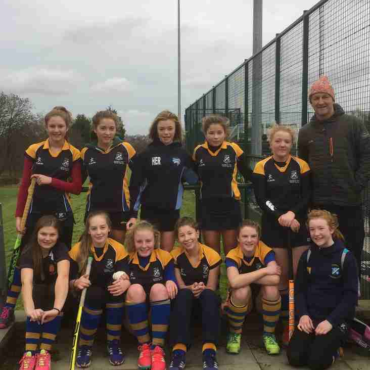 The U14 girls continue to dominate div 1.