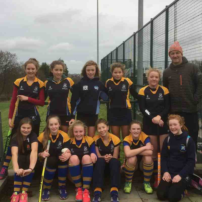U14 Girls A team Dec 2016.