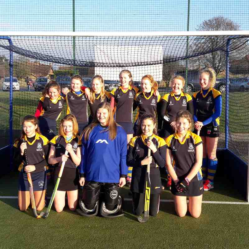 U14 Girls A team Jan 2017.