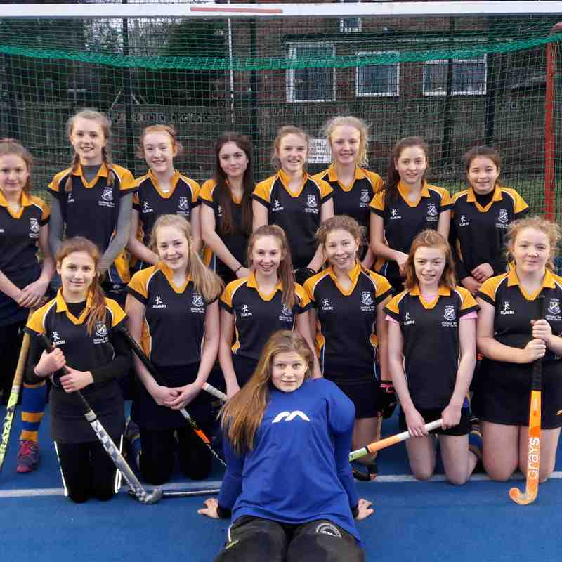 U14 Girls Feb 2017.