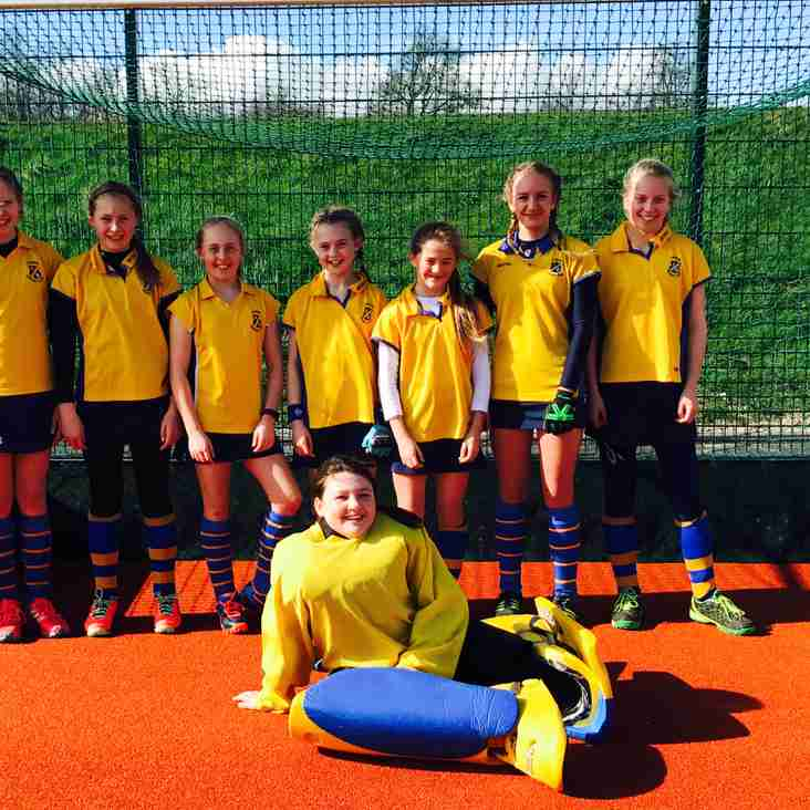 Thirsk U12 Girls on Fire!