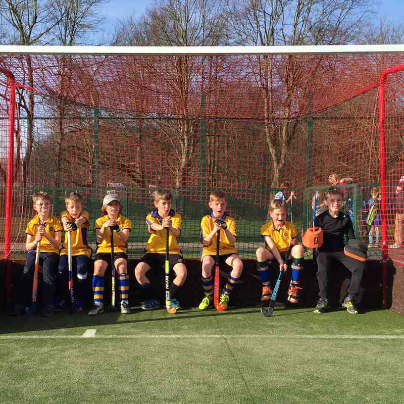 U10 Boys B team March 2017.