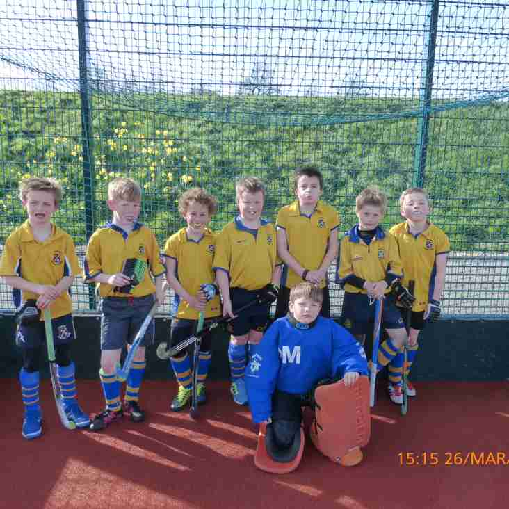 The U10 boys A and B teams were in action on Sunday the 26th March.