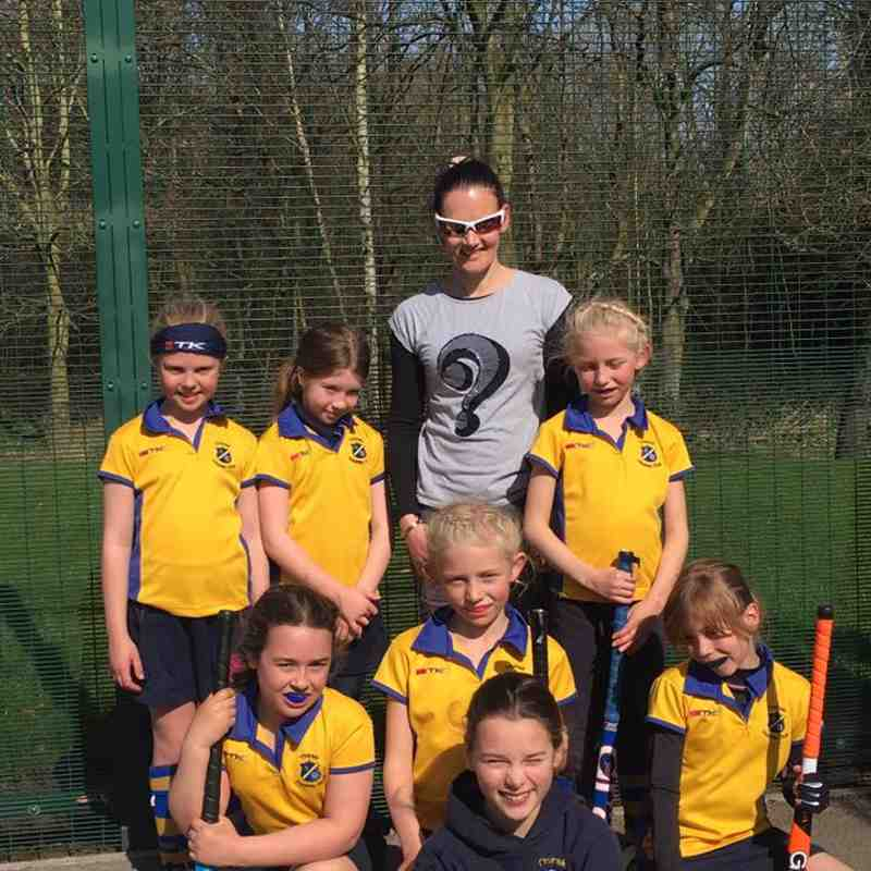 U10 girls C team March 2017