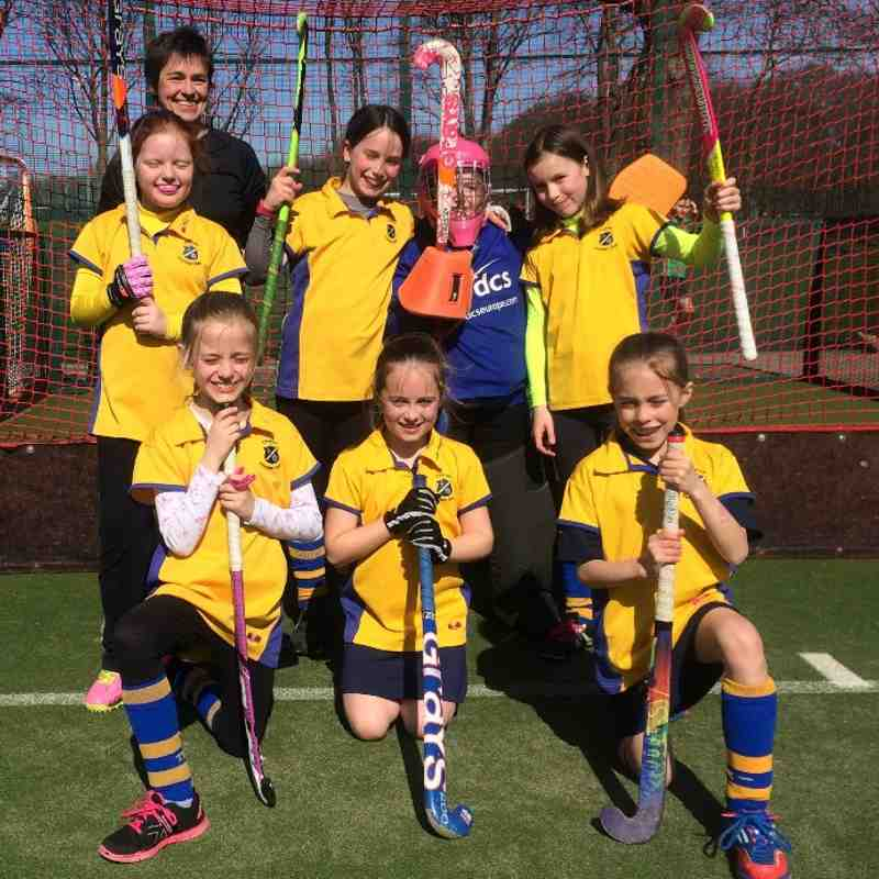 U10 girls B team March 2017
