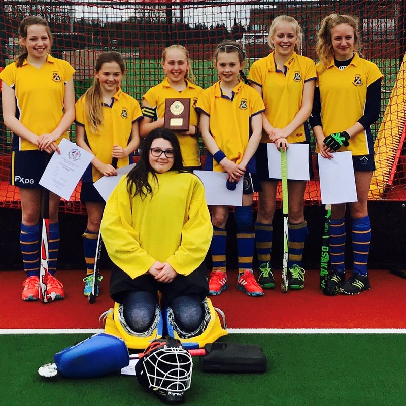 U12 girls Yorkshire Champions.