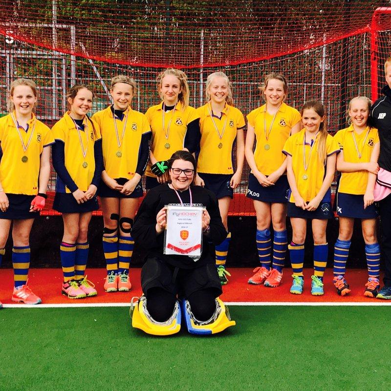 Thirsk U12 Girls A Team – North of England Champions 2017