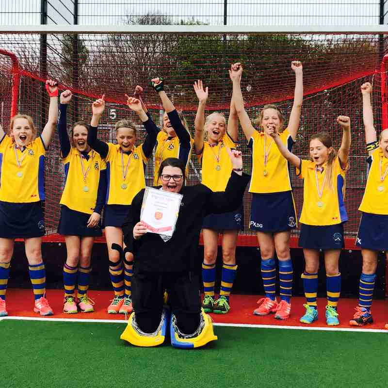 Thirsk U12 Girls A Team – North of England Champions 2017