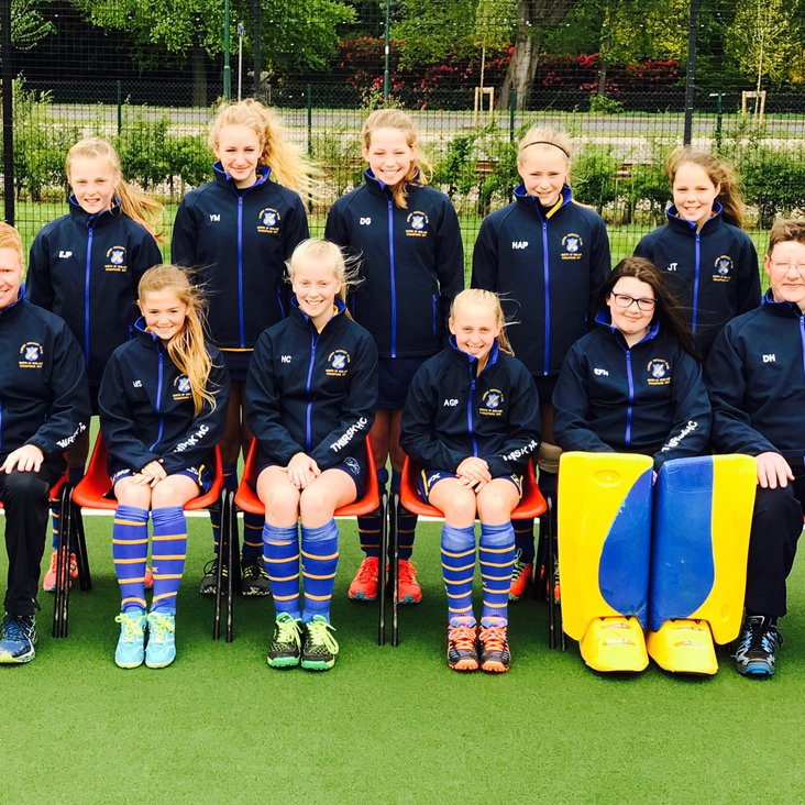 Thirsk U12 Girls - 6th Best in the Country<