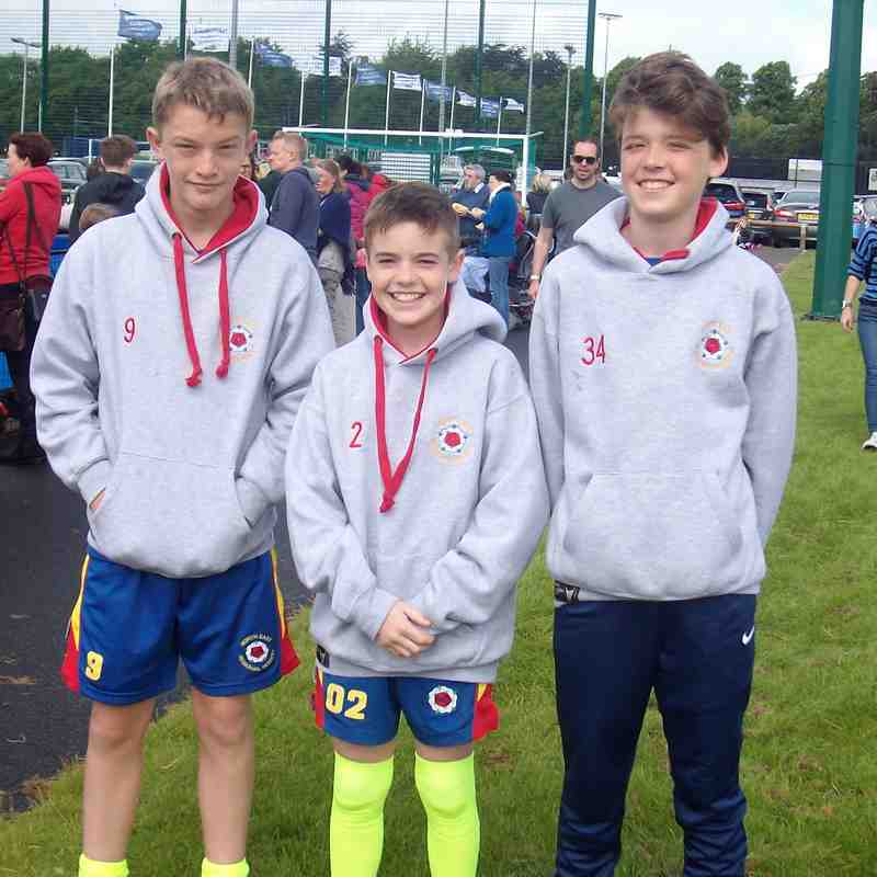 U13 boys North East Championship