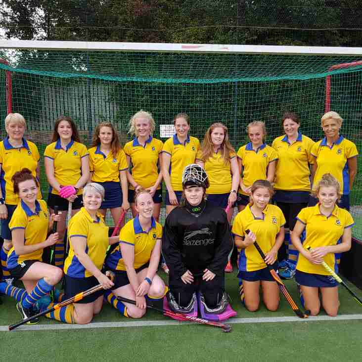 Ladies 2nds Away to City of York 4
