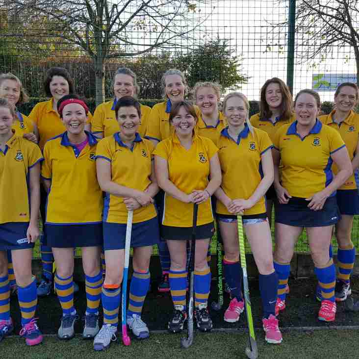 Ladies 3rds win away at Leeds.