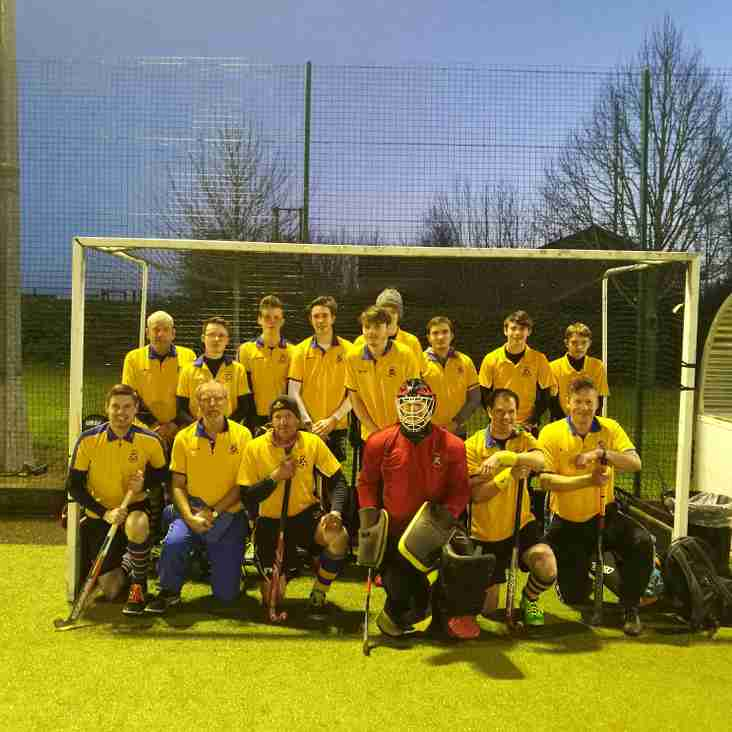 Men's 3rds suffer at the hands of Bingley Bees.