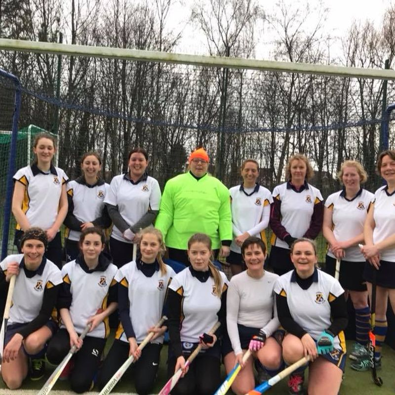Great result against top of the league for ladies 4ths.