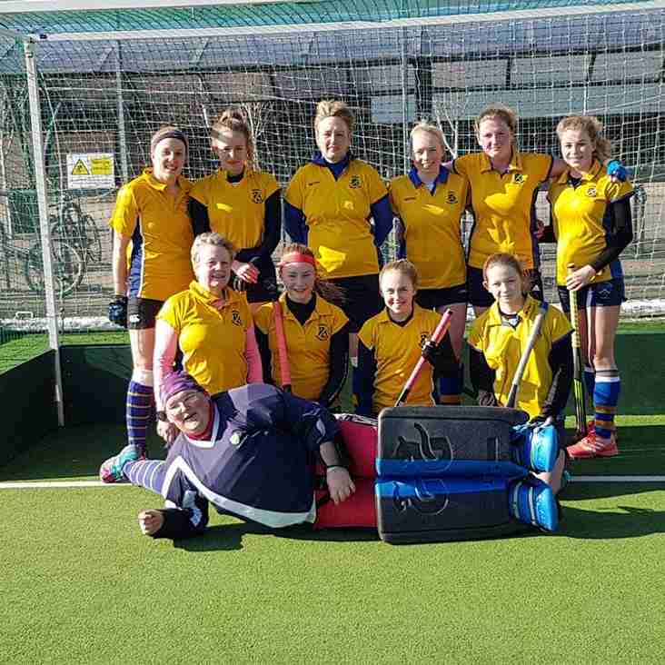 Ladies 2nds v Colne Valley on Saturday