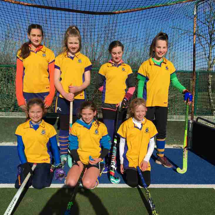 Girls u12 B team at Weetwood