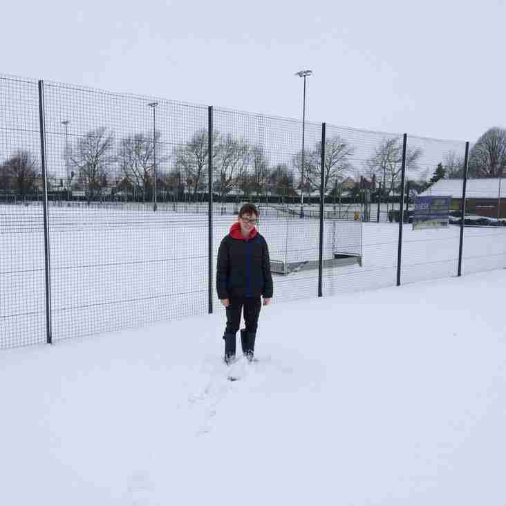 Bad Weather Postponements for the Weekend of 3/4 March 2018