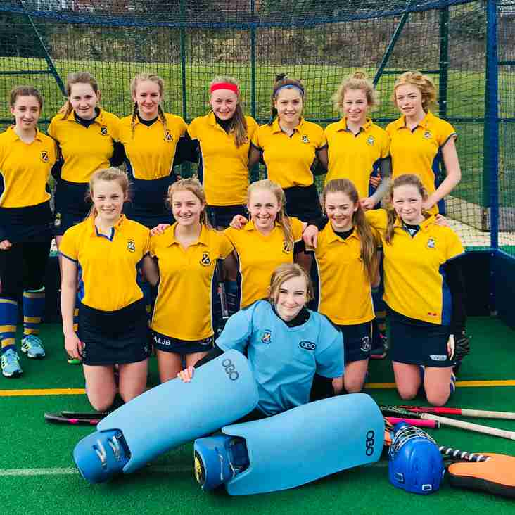 Outstanding result for U14 girls.