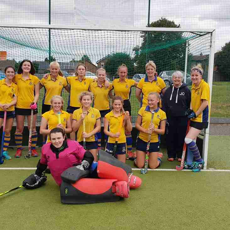 Ladies 2nds travel to Sheffield.