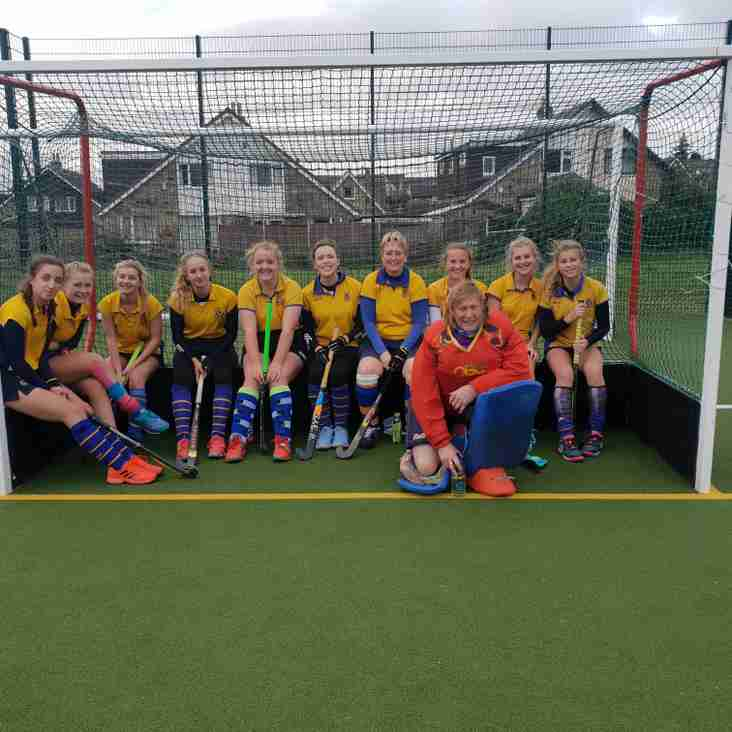 Ladies 2nds move to 3rd in Yorkshire Div 2.