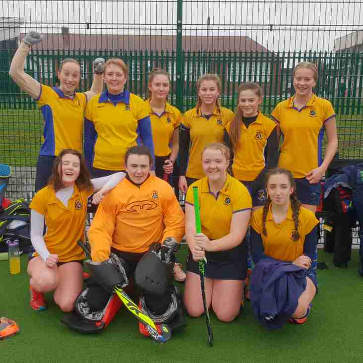 Ladies 2nds succumb to post Christmas blues.