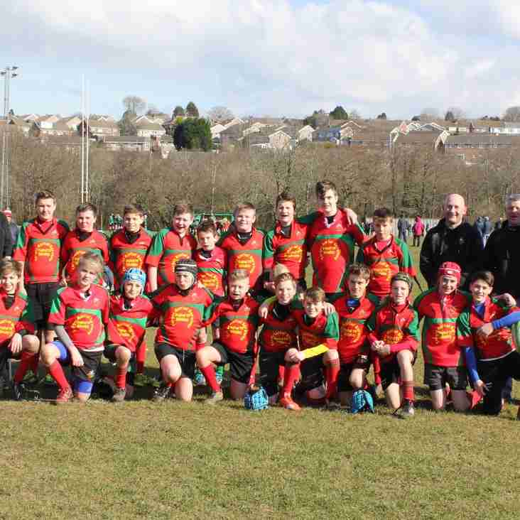 Dunvant Players Selected for Swansea Schoolboys Under 15s