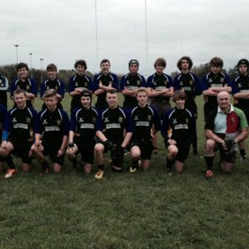 Colts beat Dorking 40 - 20