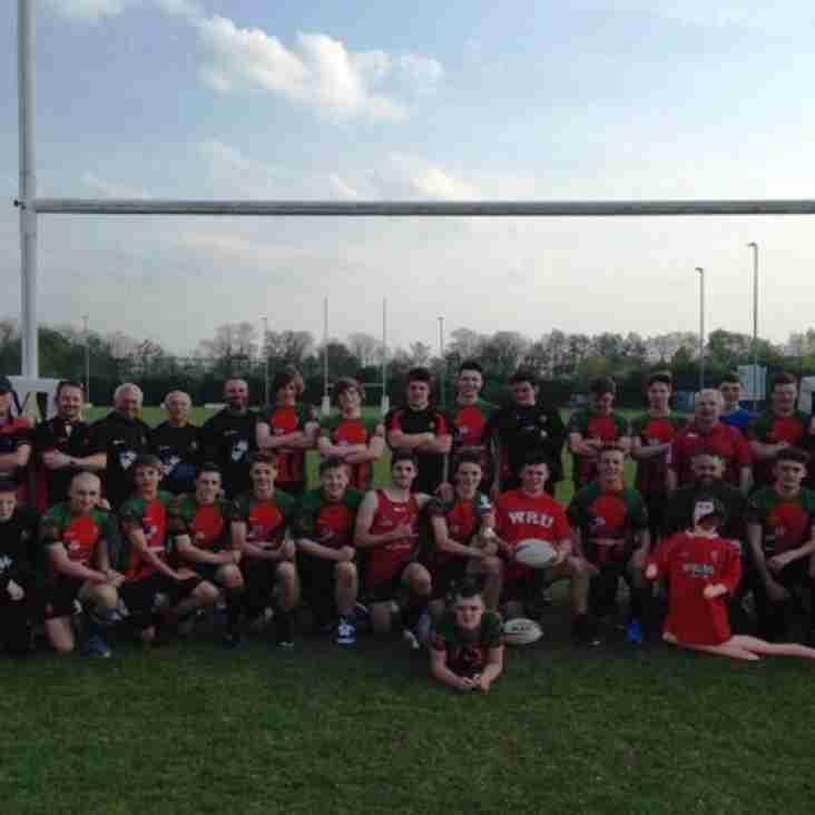 Dunvant Under 16s WIN Hilversum International Rugby Festival
