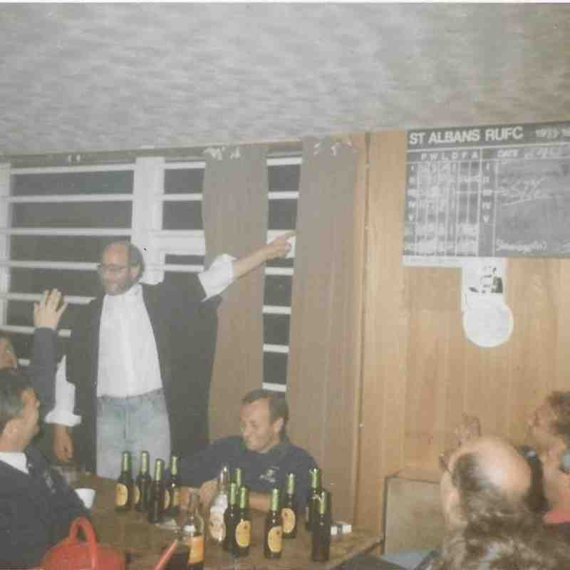 TDGC Players Supper 1990