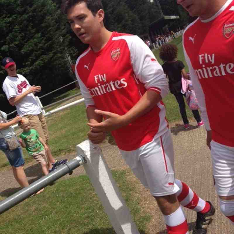 Stotfold XI vs Arsenal Charity Team