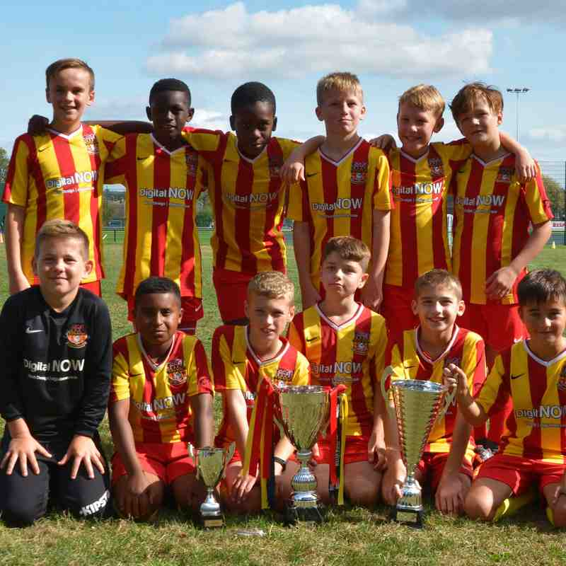 FFA Escola Stripes U11's 2018/19