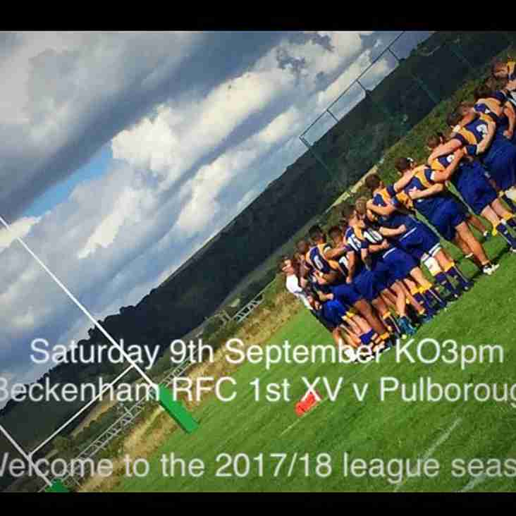 1st XV and A XV Double Header/Sat 9th Sept