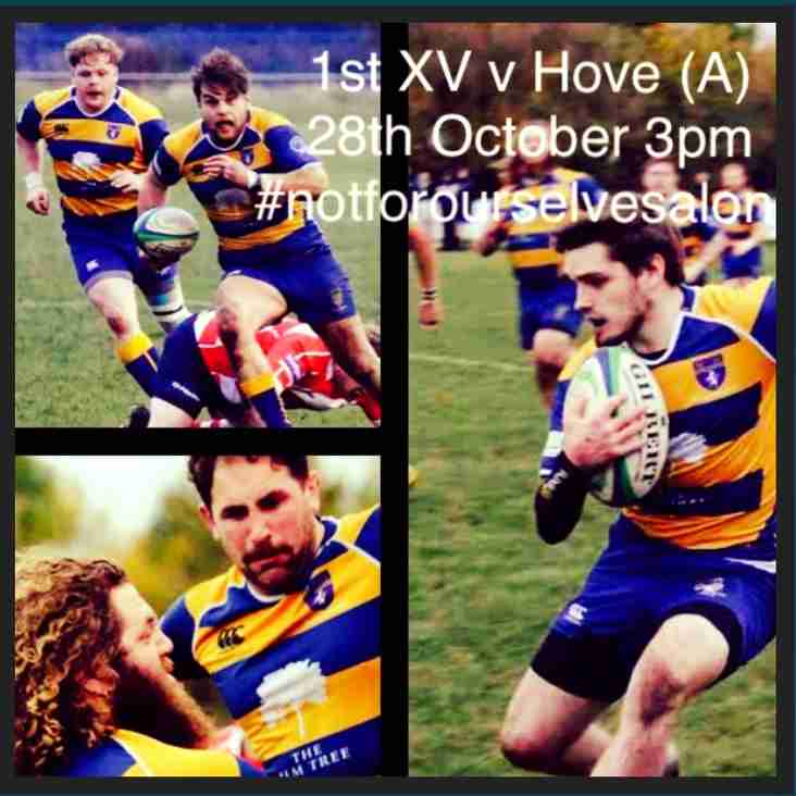 Selected 1st XV v Hove (A)
