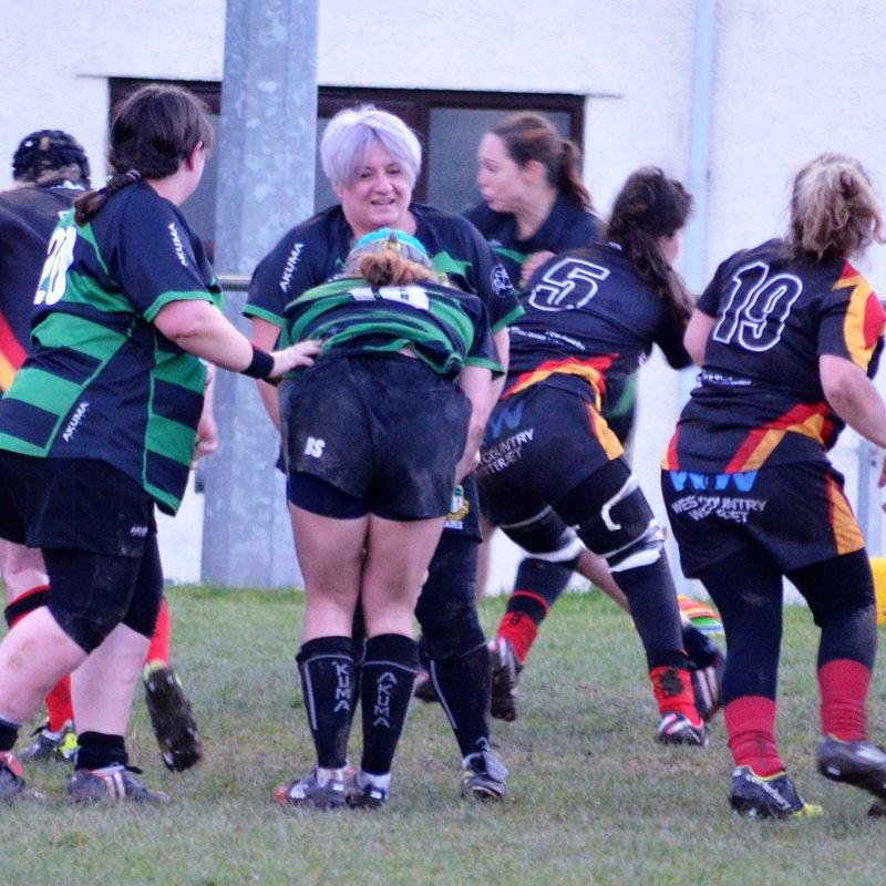 Chard Ladies 0 v 21 Withycombe Ladies